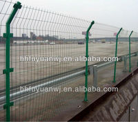 factory galvanized metal wire mesh panels ane fences for square