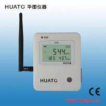 carbon dioxide CO2/RH/Temperture/Humidity data logger with large LCD display