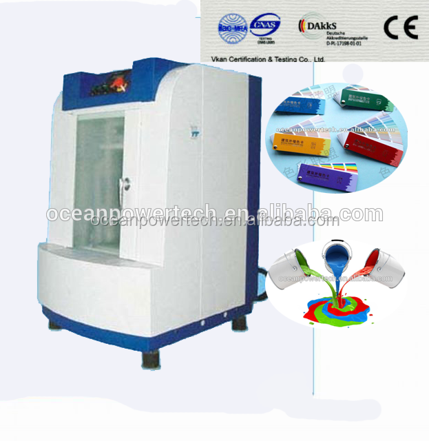 Professional design&low power consumption paint shaker/ computerized color mixing machine/ automatic mixer for square&round cans