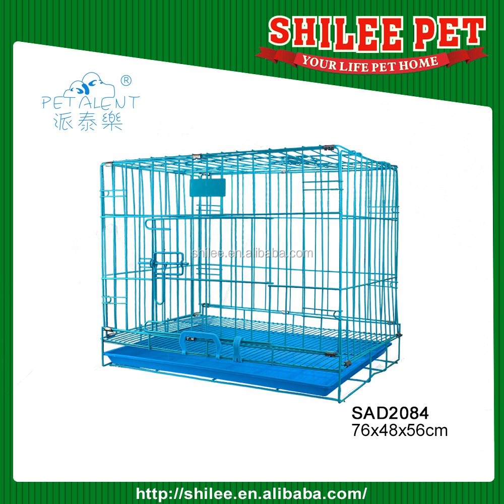 High quality Pet carrier/dog wire cage for airline travel