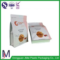 China wholesale flat bottom side gusset coffee bean pouch