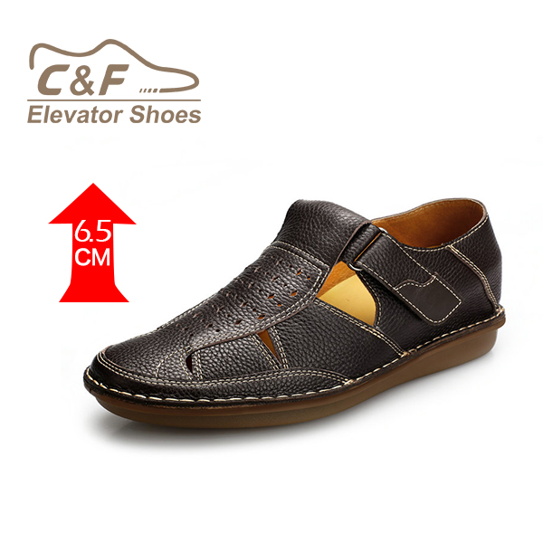 italian brand mens leather sandals with cheap price