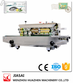 Continuous Film Sealing Machine FRD900S plastic sealer machine Horizontal automatic plastic bag sealer