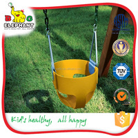 funny playground kids single swing
