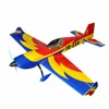 "china model rc fiberglass Extra 330 57"" V2 rainbow electric rc airplane"