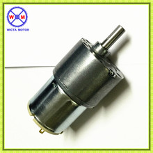 New hot sale Direct Current Low speed and noise High torque 12 volt geared motor