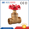 best seller brass with iron wheel handle BT4002 gate valve
