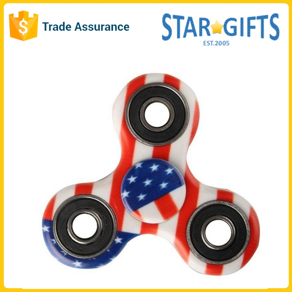 2017 Adults Kids Hand Toy Custom Plastic Spinners For Games