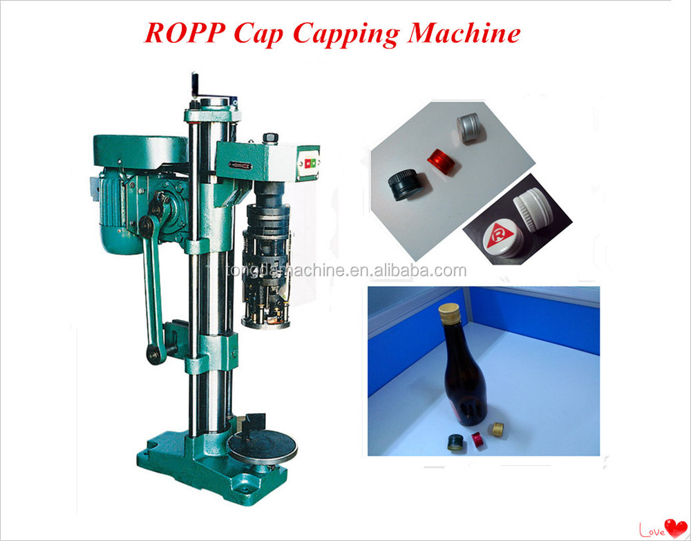 manual bottle cap sealing machine