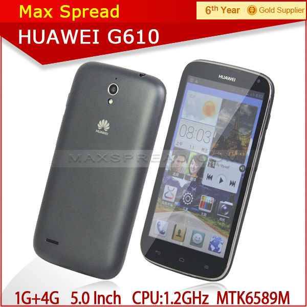 with english box Huawei G610S 5.0 inch 3G Android 4.2 Mobile Phone 1GB/4GB WCDMA GSM android kenya distributors
