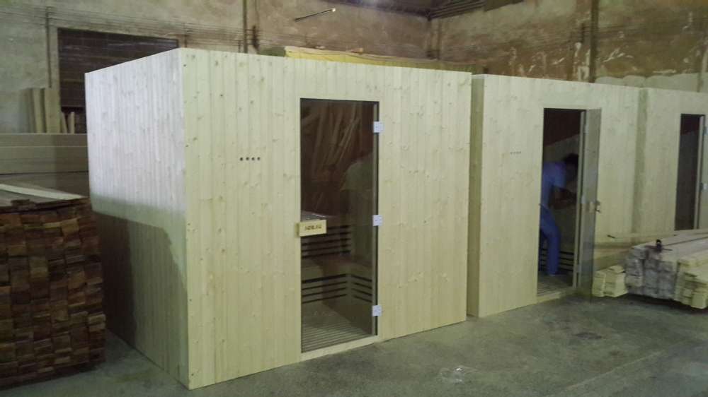 home sauna machine