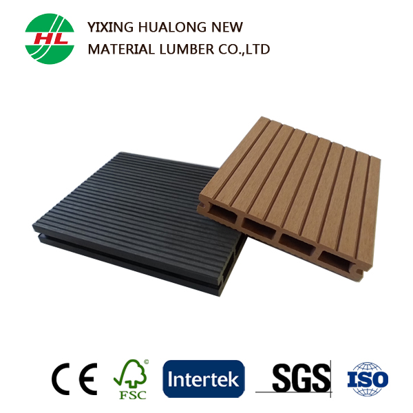 Anti-slip Exterior Wood Plastic Composite Decking WPC Outdoor Flooring with High Quality