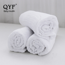MOB 015 China supplier , CPC Certification white pre-washing swaddle baby muslin 2 ply blanket , 100% organic cotton