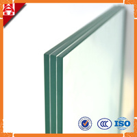tempered laminated glass panel