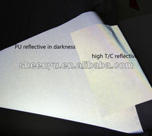 PU High-Reflective Leather /fabric