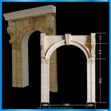 Traditional design cast stone gate