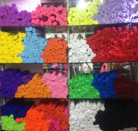 Colorful chenille stem pipe cleaners/craft jumbo loopy chenille stem