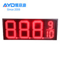 Hot Sale Gas Station Asia LED Oil Screen Gold Supplier