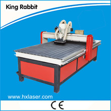 4 axis cnc router machine with Dust Collector Vacuum Table
