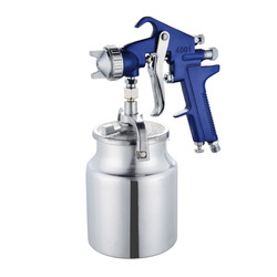 NEW4001 aluminum alloy spray gun air paint spray gun cup nozzle aluminium stainless steel copper brass sliver