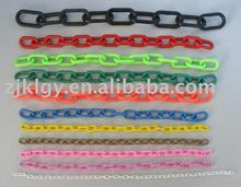 plastic barrier chain