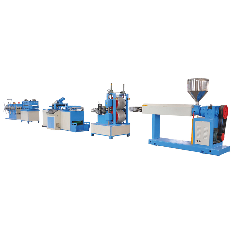Light weight plastic drain and water proof sheet extrusion line