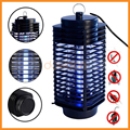 Electric Mosquito Killer Moth Killing Trap LED Bug Zapper Fly Lamp Trap