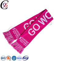 Chengxing Custom Scarf Knitted Fashion Football