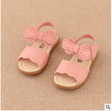 2016 Newest fashion kids shoes summer sandals in TPR sole girls beautiful sandals