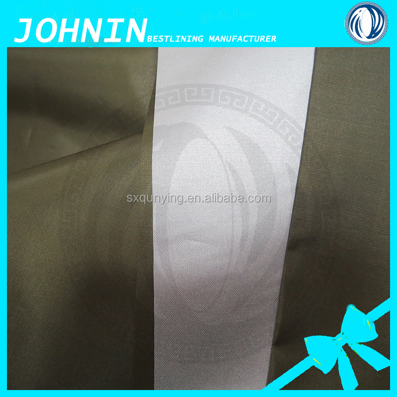 wholesale low price 170T taffeta silver coating plain dyeing woven polyester waterproof textile for car cover
