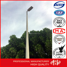 25m High Pressure Sodium High Mast steel Lighting Poles with Lifting System for square lightin