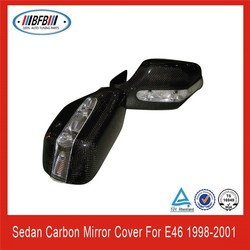 for E46 car side mirror cover with led
