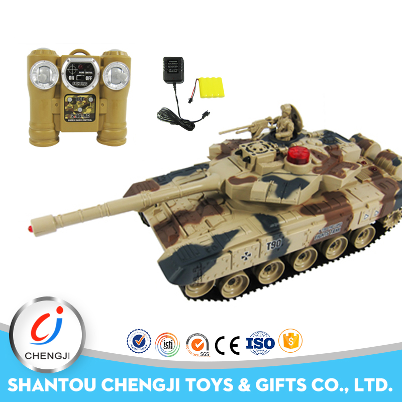 2017 high quality plastic shooting model radio control toy panzer tank