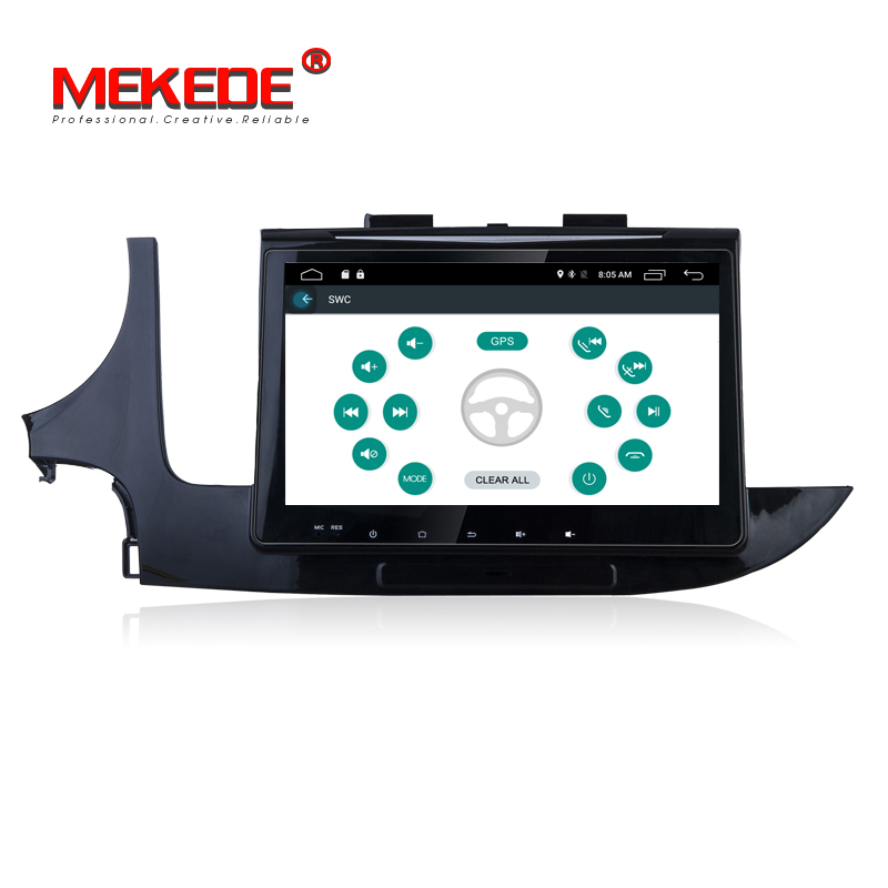"10.1"" Android 7.1 Car DVD radio Player for Opel Mokka 2016/Buick Encore gps head units"