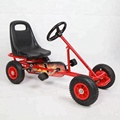 China factory cheap mini pedal go kart for 2--8years old F100B