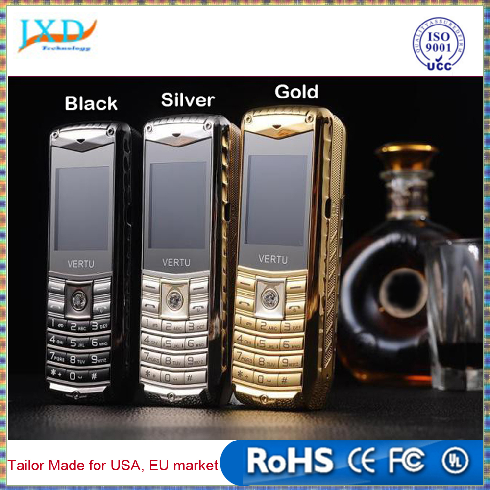 Luxury car mobile phone 3 SIM cards metal body 5800mAh power bank brand unlocked cell phones Russian Spanish Polish