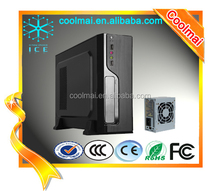 Fashion Design Front PANEL Mat Black Computer Case /SFF Cabinets -M07