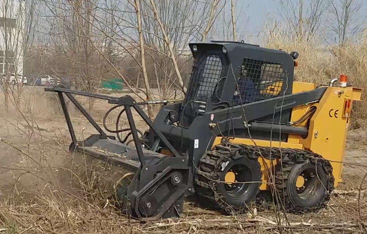 HCN 0513 Industrial hydraulic forest flail mulcher for bobcat skid steer loader