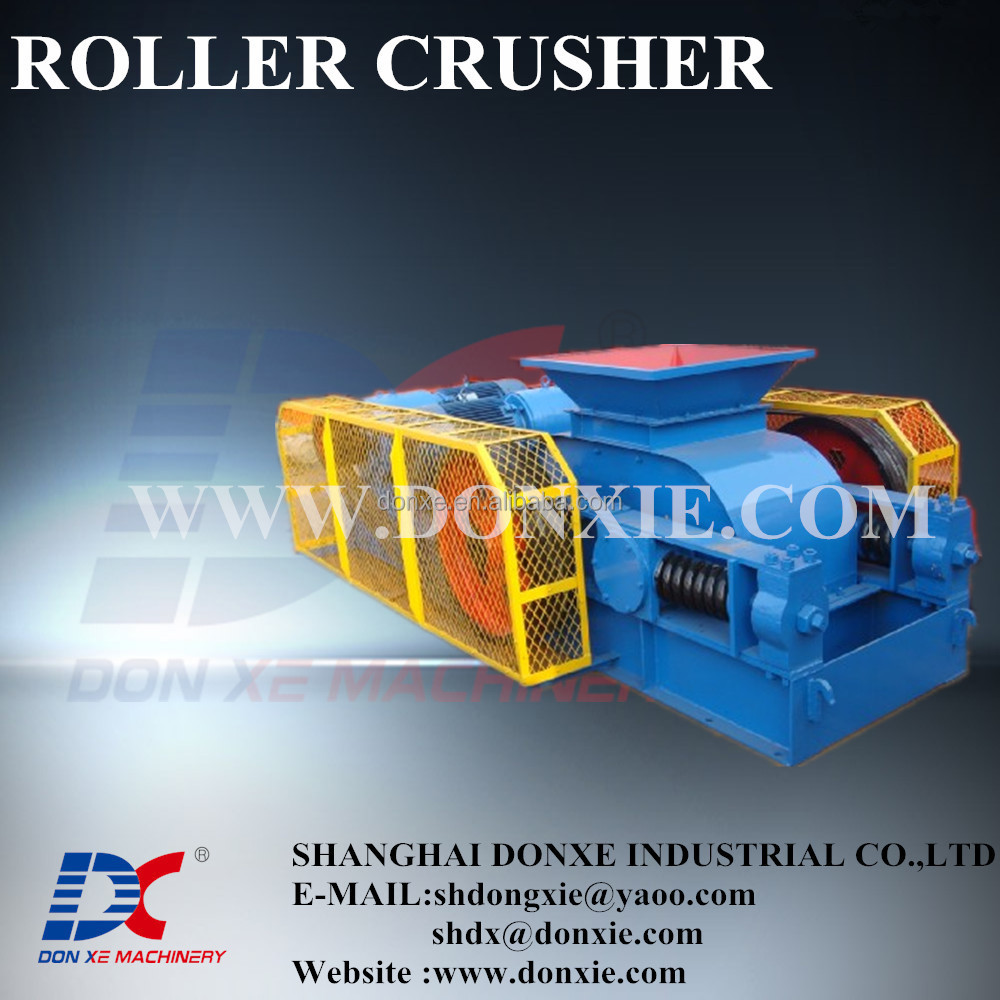 used roll crusher