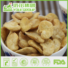 HACCP, BRC Certification natural Salted taste Fried Broad Bean Chips, snacks, natural snacks for Adults, Old aged, Children