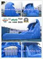 Inflatable Monster Wave Slide With Pool / Inflatable Water Slide