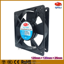 cabinet cooling fan with thermostat 12025 super cooling fans with pwm function axial flow fan 120x120x25