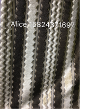 manufactory knitting fabric velvet with new stripe pattern for home textile