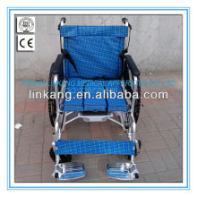 Economy Chromed Steel Commode Wheelchair