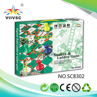 Main product top sale board game maker from China snakes&ladders