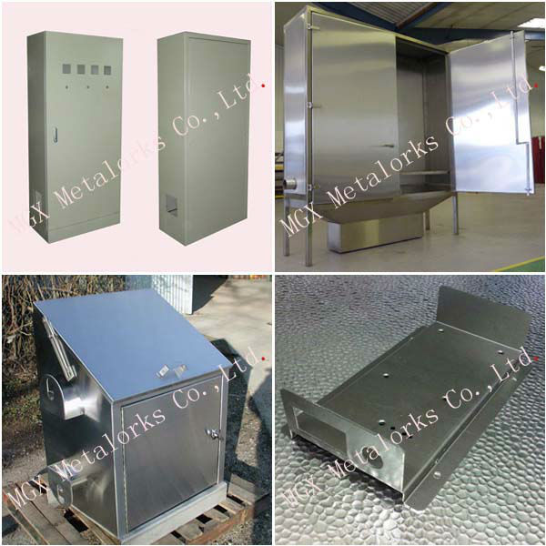 Customized OEM Made By Drawing Glass Metal Nickel Plated Window Frame