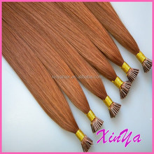 Top Quality Best Italian Glue i/u/v/flat/Micro ring pre bonded hair extensions