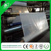 200 micron clear transparent polyethylene film with high tensile waterproofing