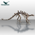 OAJ9080 Outdoor Playground Dinosaur Skeleton Statue
