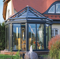 Top quality green nature glass house and winter garden sunroom Sun Room